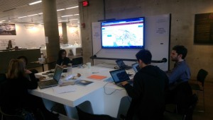 Mapping desk at Harvard Graduate School of Design (Photo: Kirti Joshi)